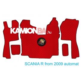 Hímzett padlóborítás SCANIA R 2009 után aut. váltó
