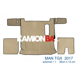 Teljes padló borítás Man TGX 2017 után (1 fiókos, aut. váltó)