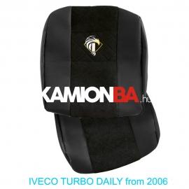 IVECO bőr üléshuzat TURBO DAILY 2006-tól