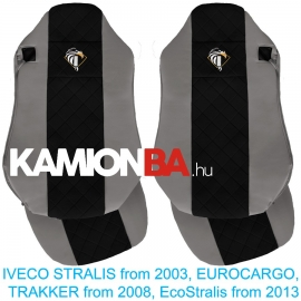 IVECO bőr üléshuzat STRALIS, EUROCARGO, EcoStralis