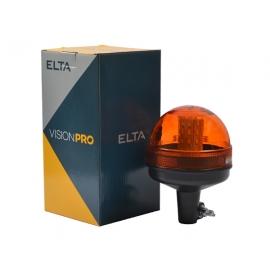 LED sárga villogó 12/24V csőre