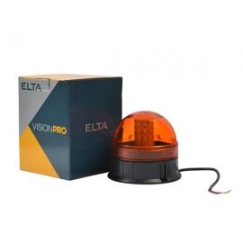 LED sárga villogó 12/24V csavarozható