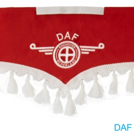 DAF Szélvédő Rojt hímzéssel