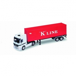 WELLY kamion modell MERCEDES BENZ ACTROS  1:32