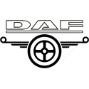 Gravírozott LED-es tábla DAF