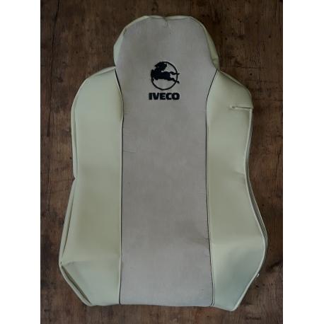 """IVECO bőr üléshuzat STRALIS, EUROCARGO, EcoStralis """"HORSE"""" hímzéssel"""